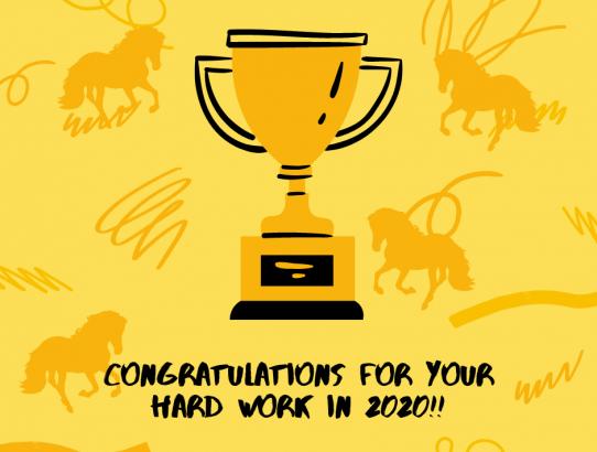 Congratulations! 2020 Award Winners