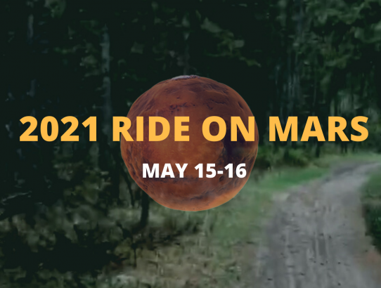 DRM Event: Ride on Mars, May 15 - 16, 2021