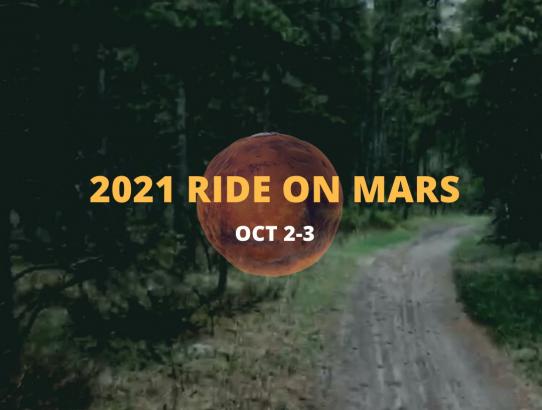 2021 Ride On Mars - October 2 - 3